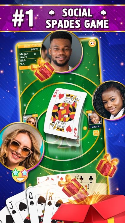 VIP Spades - Online Card Game screenshot-0