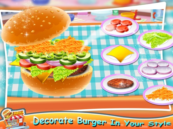 Pizza Burger - Food Maker screenshot 8