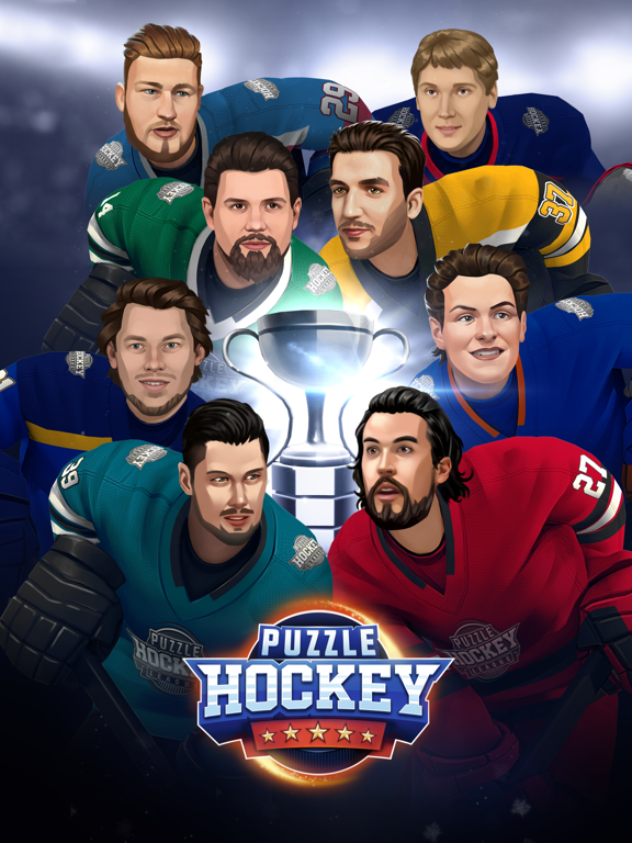 Puzzle Hockey screenshot 1