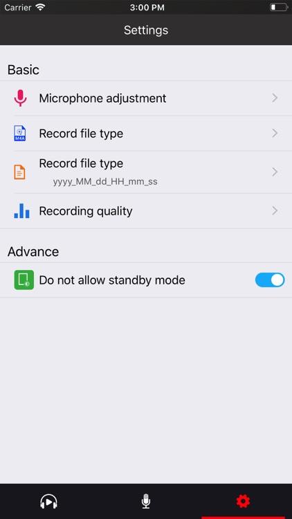 Voice recorder - Voz screenshot-6
