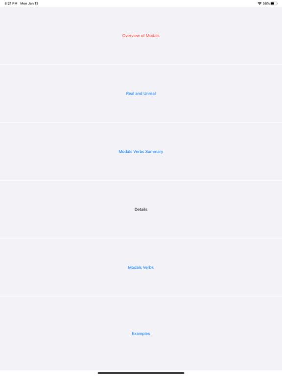 Modals screenshot 2
