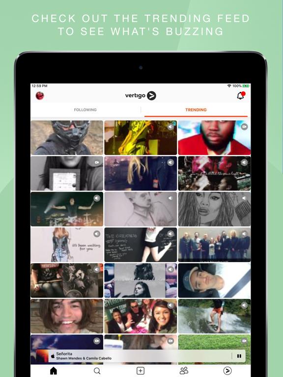 Screenshot #6 pour Vertigo Music: Share Life