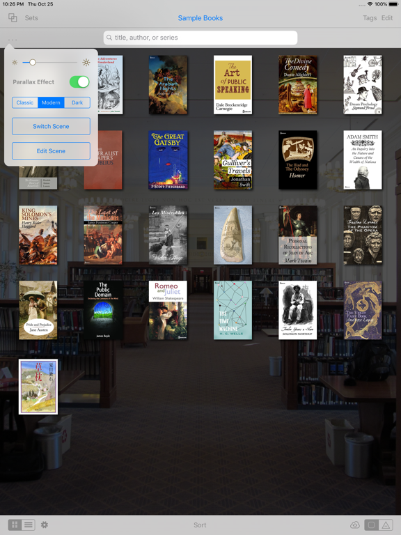 MapleRead CX - eBook Reader screenshot