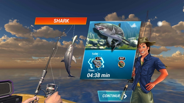 Fishing Deep Sea Simulator 3D screenshot-0
