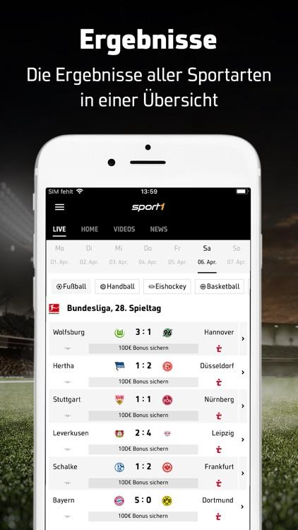 SPORT1: Sport & Fußball News screenshot-0