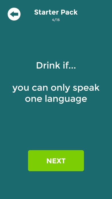 Drink If: Buzzed Drinking Game screenshot 1