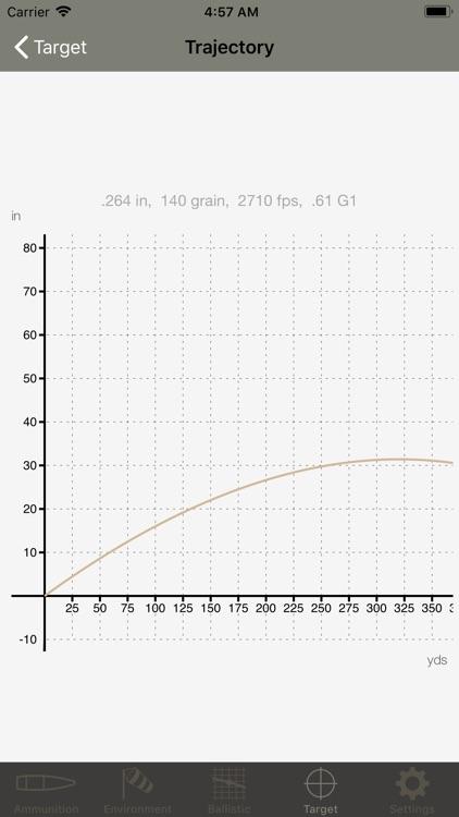 Ballistic Calculator SBC Light screenshot-4