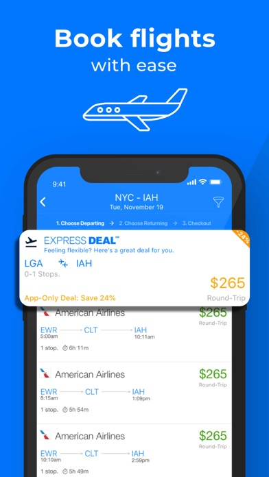Priceline review screenshots
