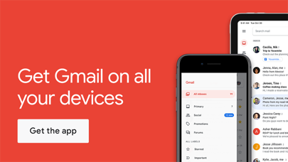 Screenshot of Gmail - Email by Google App