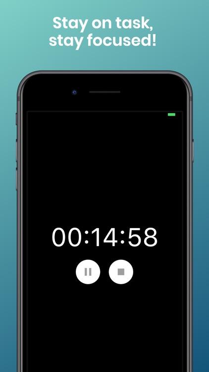 Focusi: Study Timer/Be Focused screenshot-3