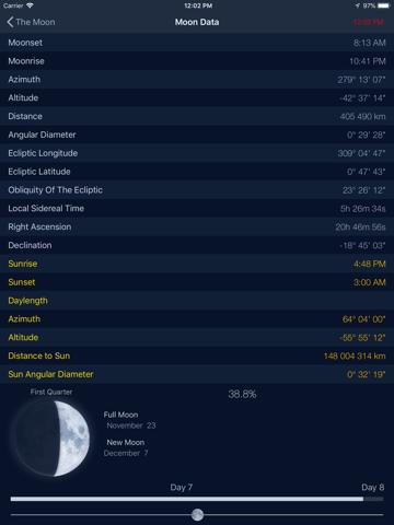 Скриншот из The Moon: Calendar Moon Phases