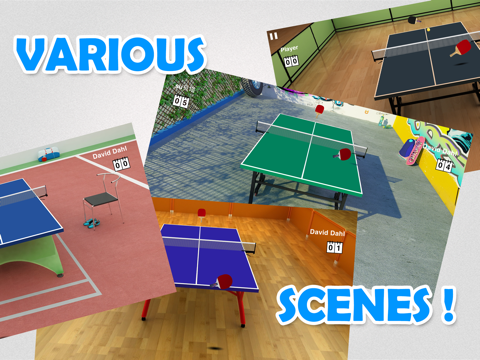 Virtual Table Tennis HD - náhled