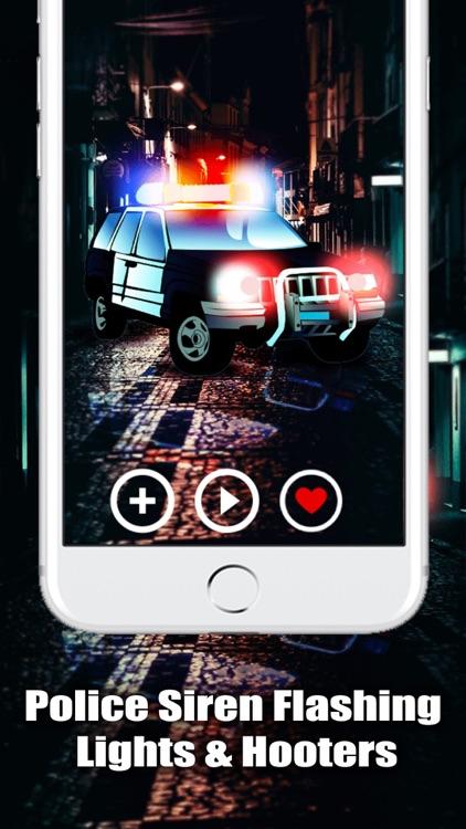 Police Siren Sound: Cop Lights