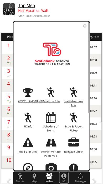 Screenshot for Toronto Waterfront 42K in Canada App Store
