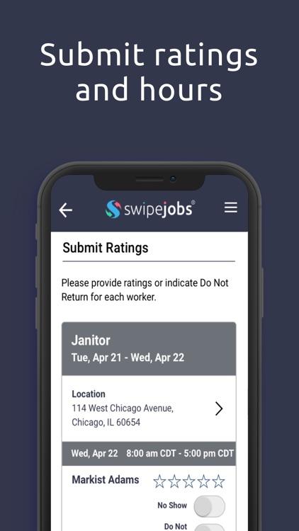 swipejobs Business screenshot-3