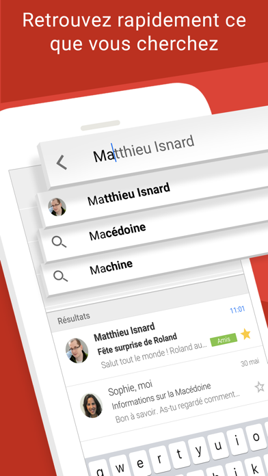 Screenshot for Gmail – l'e-mail Google in France App Store