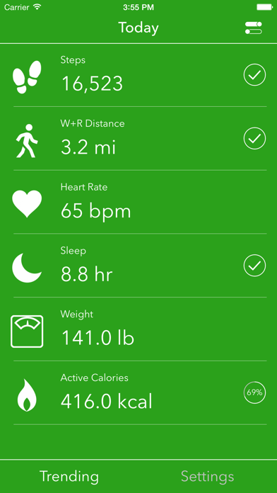 Dashboard for Apple Health Appのおすすめ画像1