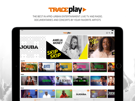 TRACE Play, Proudly Afro-Urban