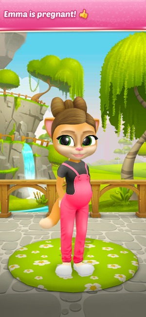 Pregnant Talking Cat Emma on the App Store