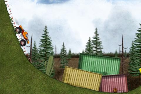 Stickman Downhill Monstertruck - náhled