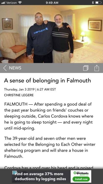Cape Cod Times, Hyannis, Mass. screenshot-3