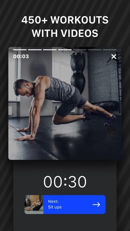 Muscle Booster Workout Tracker screenshot-3
