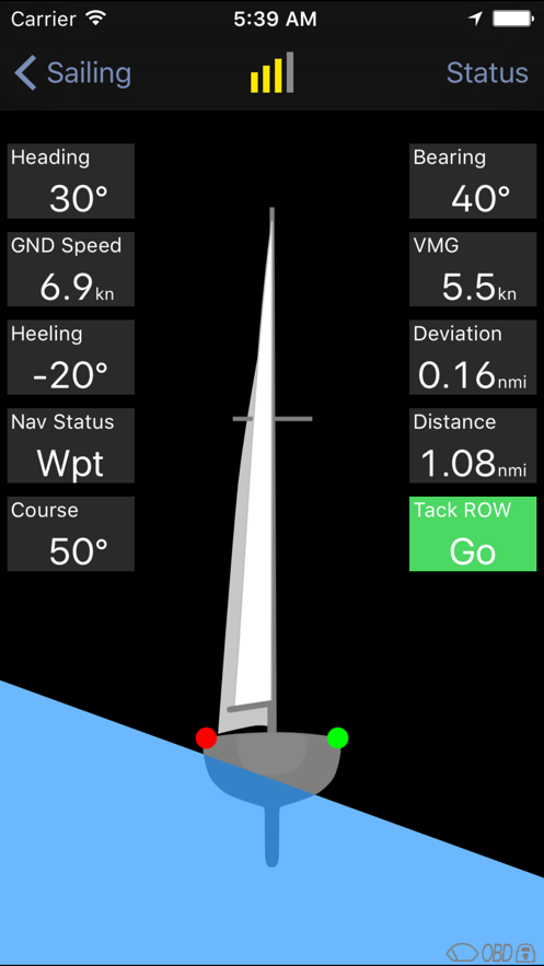 Harry's Sailor App 截图