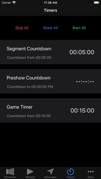 Propresenter Remote review screenshots