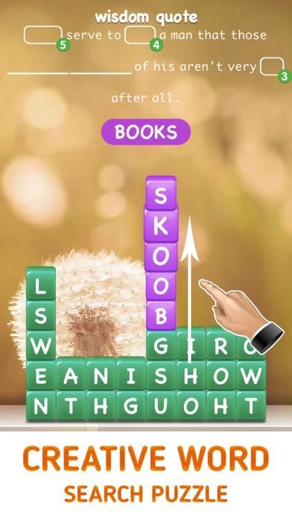 Word Equest - Swipe Puzzle screenshot-0