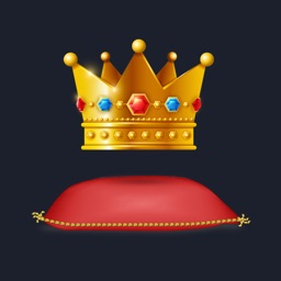 Majestic Crown Stickers