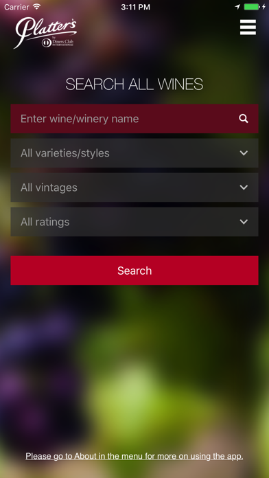 Platter's Wine Guide for pc