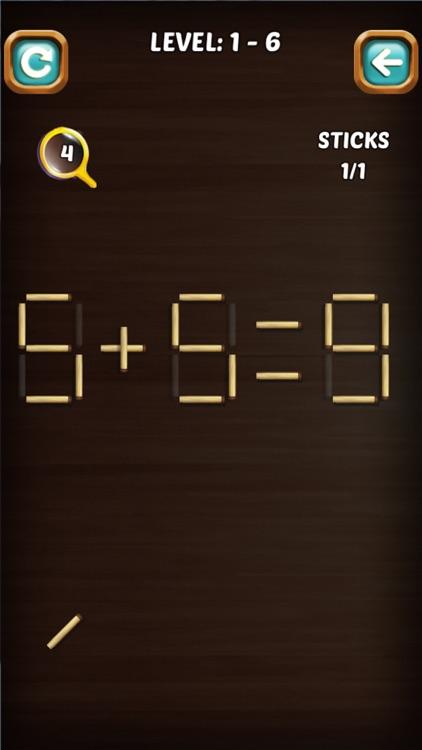 Math Match Stick Puzzle screenshot-4