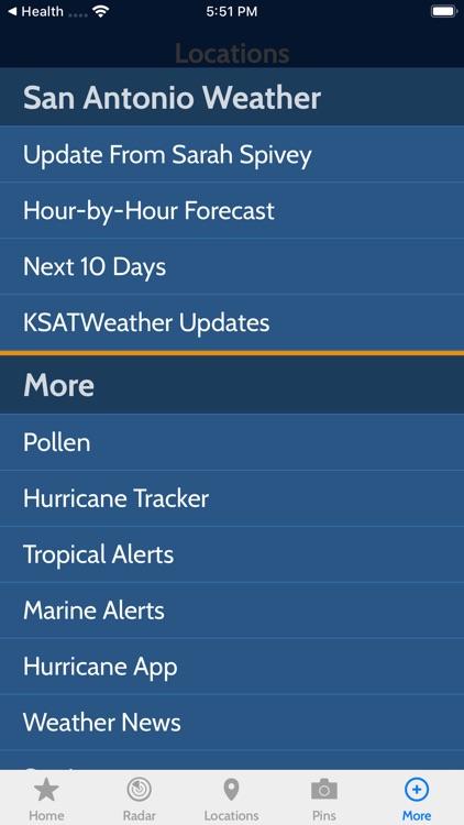 KSAT 12 Weather Authority screenshot-3