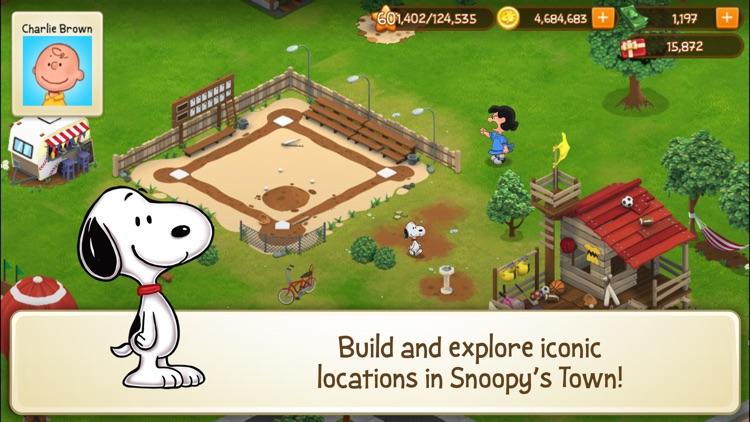 Peanuts: Snoopy Town Tale screenshot-0