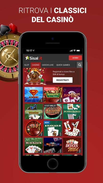 Sisal Casinò e Slot screenshot-3