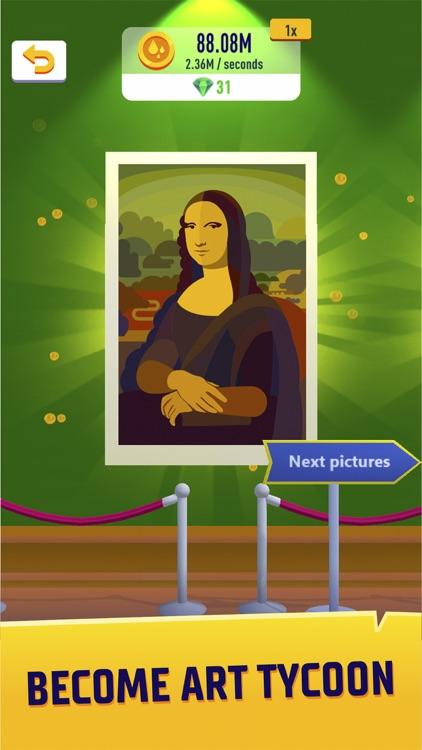 Idle Art Gallery -Paint Tycoon