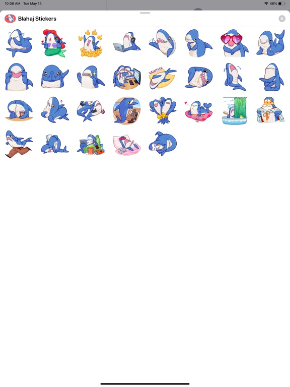 Blahaj Stickers screenshot 4