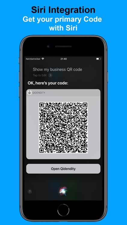 Qidentity - Share my Card