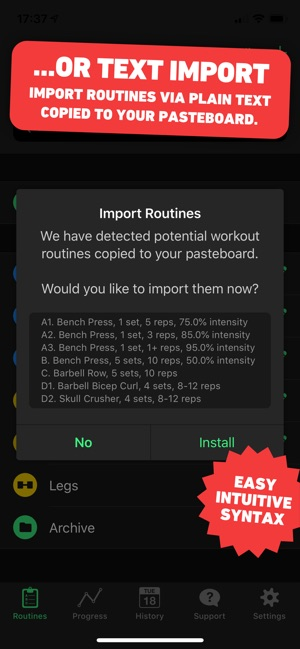 HeavySet - Gym Log on the App Store
