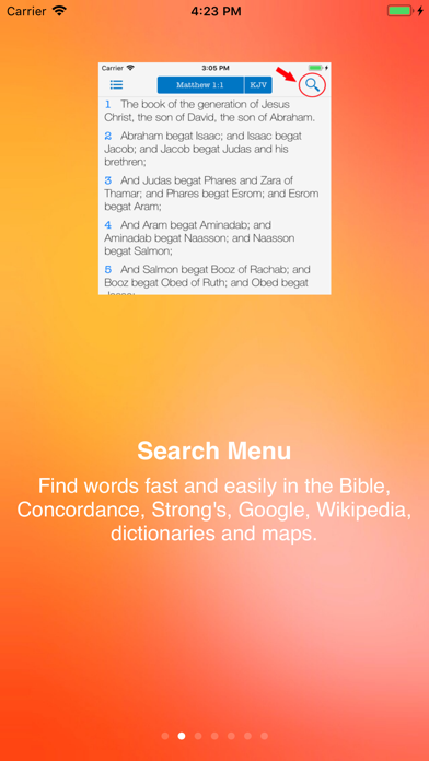 Strong's Concordance KJV Bible by Kairos Software LLC (iOS