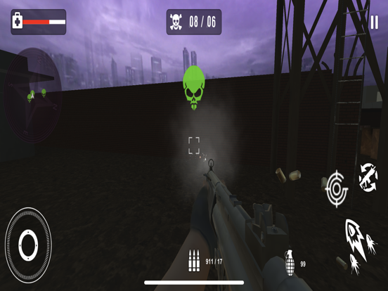 Survival Sniper Zombie Army 3D screenshot 8