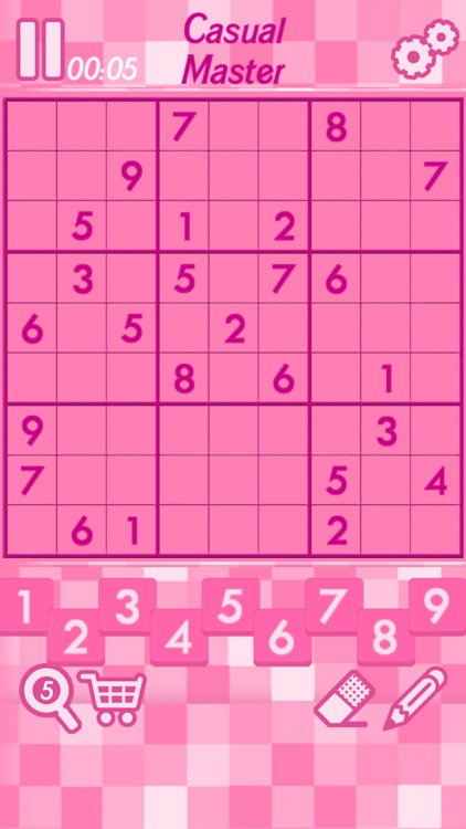 Pink Sudoku screenshot-1