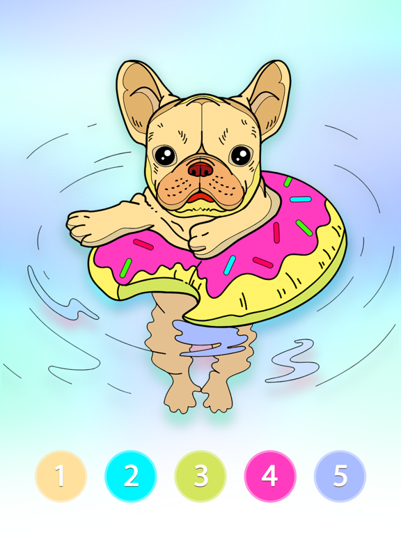 Coloring Fun : Color by Number screenshot 9