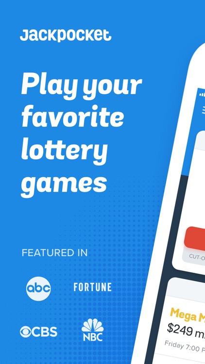 Jackpocket - Play the Lottery screenshot-0