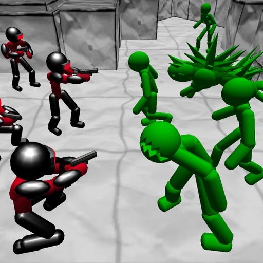 Battle Sim: Stickman Zombie icon