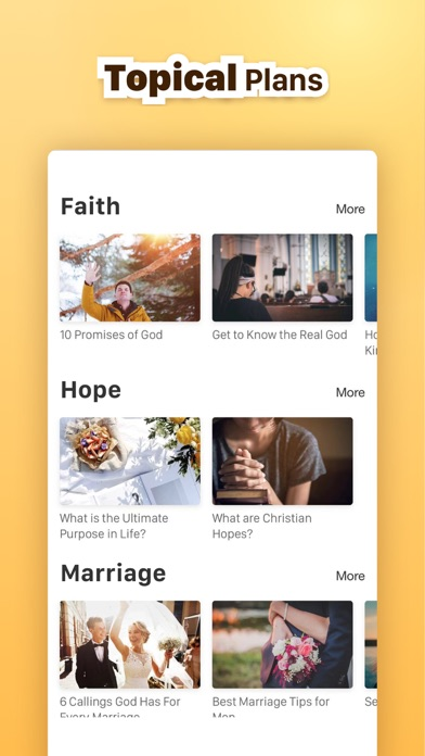 Screenshot for 30 Day Bible Study in United States App Store