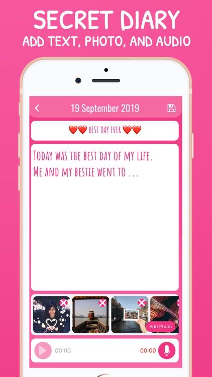 My Secret Diary & Mood Tracker