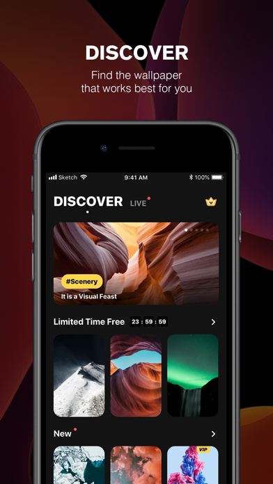 Omni Wallpapers Live HD Themes screenshot 2