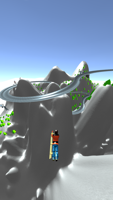 Snow Race! screenshot 2