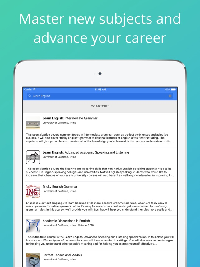 Coursera: Learn new skills on the App Store